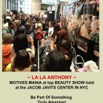 Motives Cosmetics At The Jacob Javits Center