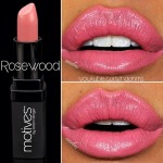 Motives Cosmetics Lipstick in Rosewood