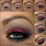 Beautiful Eyes with Motives Eye Shadow and Eyeliner