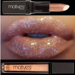 Motives for La La Lipstick in 24K and Lip Shine in Glam