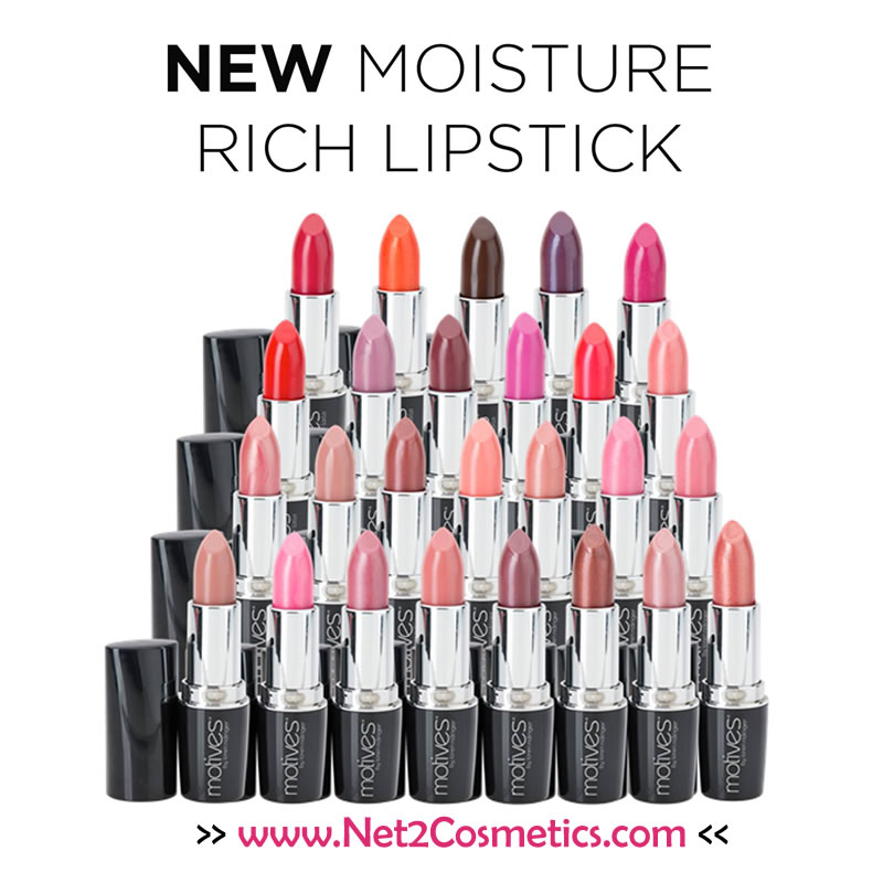 NEW Motives and Motives for La La Moisture Rich Lipstick