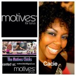 Cacie has Joined Motives for La La!