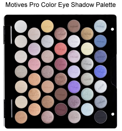 Motives Pro Color Eye Shadow Palette