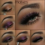 Naughty Mauve Look Using Motives Cosmetics