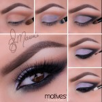 Purple Look by Ely Marino Using Motives Cosmetics
