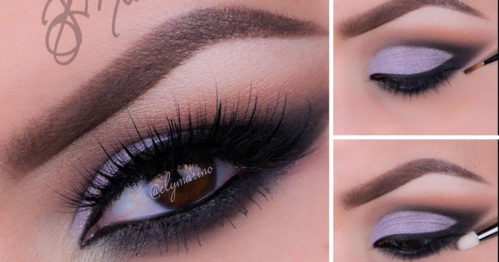 Sweet Purple Look Using Motives Cosmetics 2