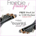 Freebie Friday Motives 7-Piece Brush Set