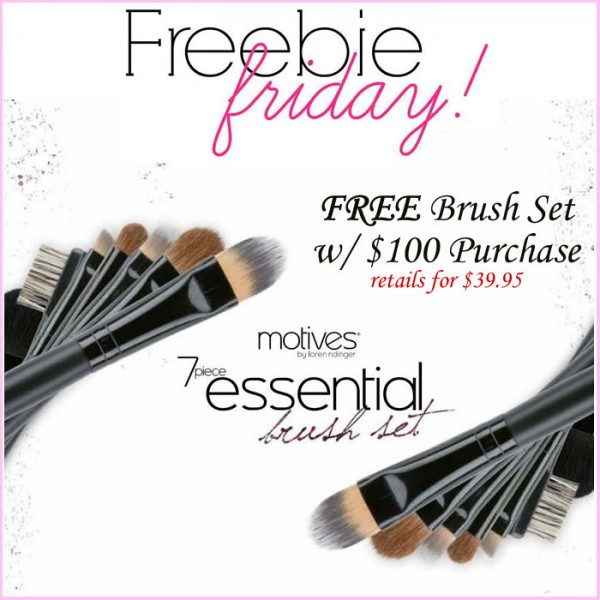 Free Brush Set